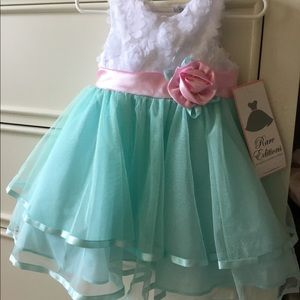NWT RARE EDITIONS dress for baby girl